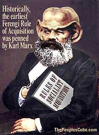 Ferengi Karl Marx