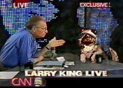 laika larry king cartoon