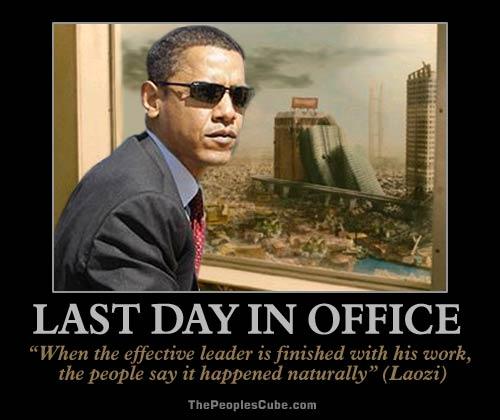 a glimpse into the future obama 39 s last day in office