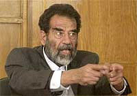 saddam hussein wmd satire