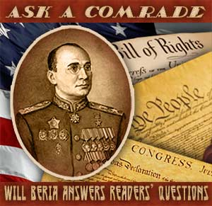 Will Beria answers questions