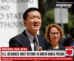 Hawaiian judge orders detainees back to N.Korea