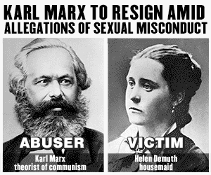 Karl Marx's sexual misconduct