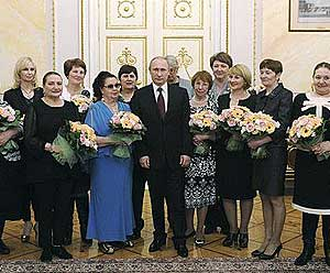 Putin Russian sex workers