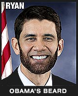 Paul Ryan Obama's Beard