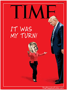 Time Trump baby Hillary