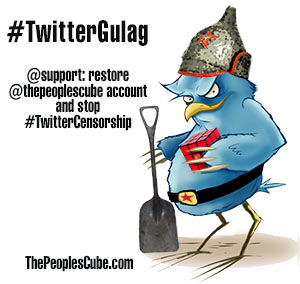 The People's Cube in Twitter Gulag